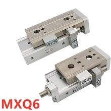 Mxq MXQ6 MXQ6L Nieuwe Originele Echt Slide Gids Cilinder Pneumatische MXQ6-10 MXQ6-20 MXQ6-30 MXQ6-40 MXQ6-50
