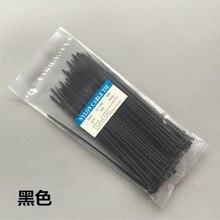 Nylon kabelbinder 100 stücke 60/80/100/120/150/200mm Zip Krawatten Selbst locking Nylon Kabelbinder (breite 1,9mm)