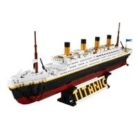 1333pcs educational building blocks toys for kids 6years diy birthday holiday present sy0400 cruise ship model small bricks
