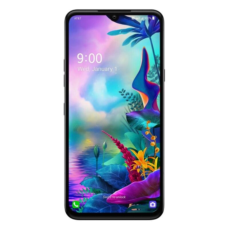 Фото2 - Смартфон LG G8X ThinQ G850EMW G850UM, 2sim-карты и 1SIM-карта, разблокированный мобильный телефон, экран 6,4 дюйма, 6 ГБ ОЗУ 128 Гб ПЗУ, восемь ядер, NFC, 13 МП, 4G LTE, ...