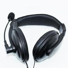 Casque de jeu pour ordinateur PC portable nouveau filaire affaires basse stéréo 3.5mm casque avec Microphone Promotion réunion