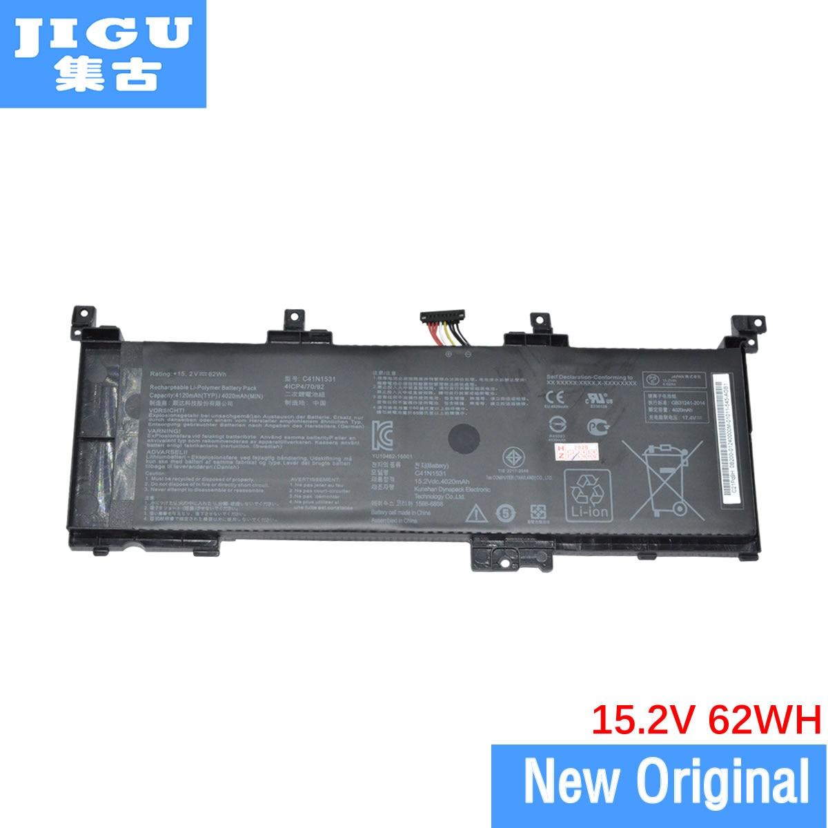 JIGU 0B200-01940100 C41N1531 الأصلي بطارية كمبيوتر محمول ل Asus FX502VS G502VS GL502VSK GL502VY GL502VS-GZ132T GL502VS-GZ217T