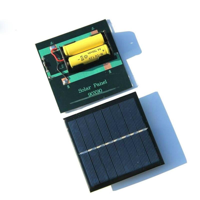 Sunyima 1 pçs painel solar carregador de bateria solar 1w4v placa de carregamento solar solares power bank