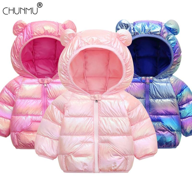 Baby Girls Jacket 2021 Autumn Winter Jacket For Girls Coat Kids Warm Hooded Outerwear Children Clothes Infant Girls Coat