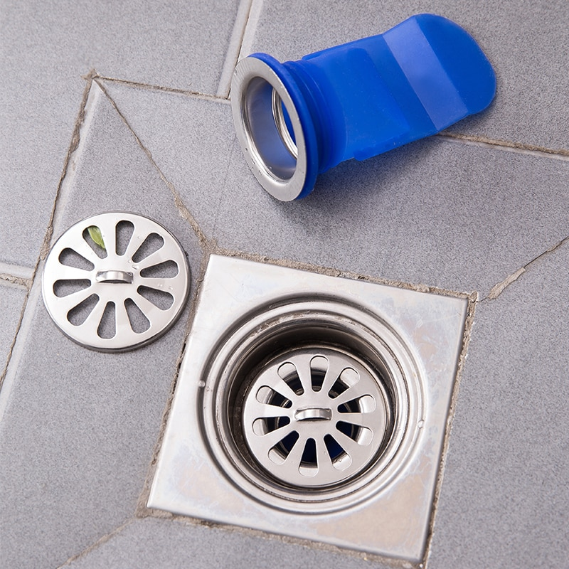 Deodorant Drain Strainer Anti-insect Silicone Kitchen Bathroom Sink Pipe Sewer Drainer Seal Anti-odor Pest Floor