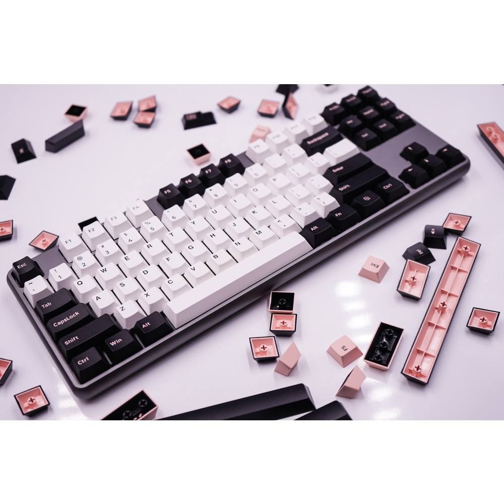 G-MKY 160 Olivia Keycaps Cherry Profile DOUBLE SHOT Thick PBT Keycaps for MX Switch Mechanical Keyboard enlarge