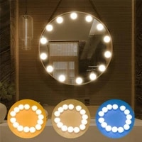 new mirror fill lights usb touch control three color stepless dimming led light for bathroom dressing desktop beauty makeup lamp