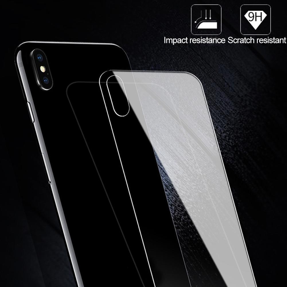 Screen Protectors Tempered Glass Phone Back Protective Film for iPhone 7 8 Plus XS Max 11 Pro Max Mo