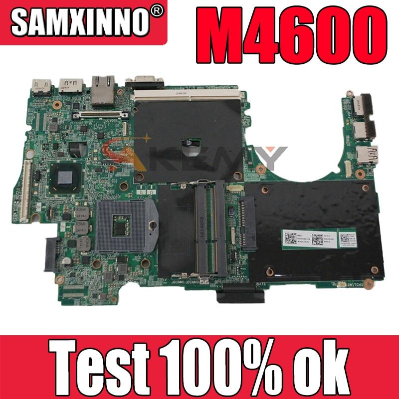 اللوحة الأم الأصلي لأجهزة الكمبيوتر المحمول ديل M4600 CN-0605CY 0605CY QM67 ل RGB