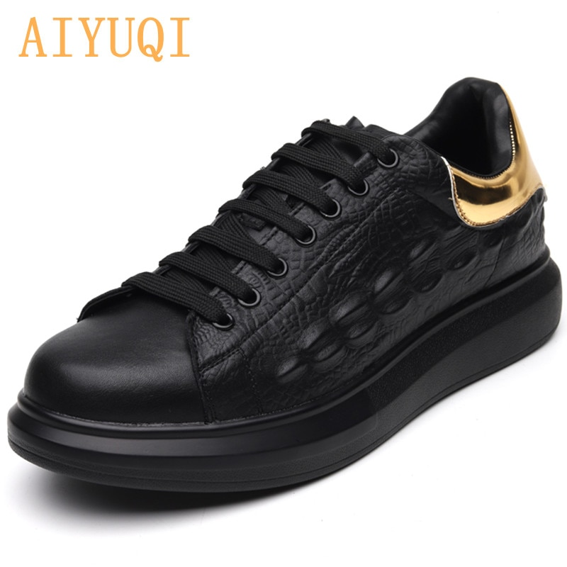 AIYUQI Men's Sneakers 2021 Autumn Leisure Trend Men's Casual Shoes Student White Flat Shoes For Men