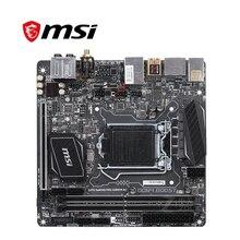 Placa base de carbono AC para MSI Z270I GAMING PRO, placa base LGA 1151 DDR4 para Intel Z27, placa base de escritorio SATA III, USB 3,0, PCI-E X16 3,0, usada