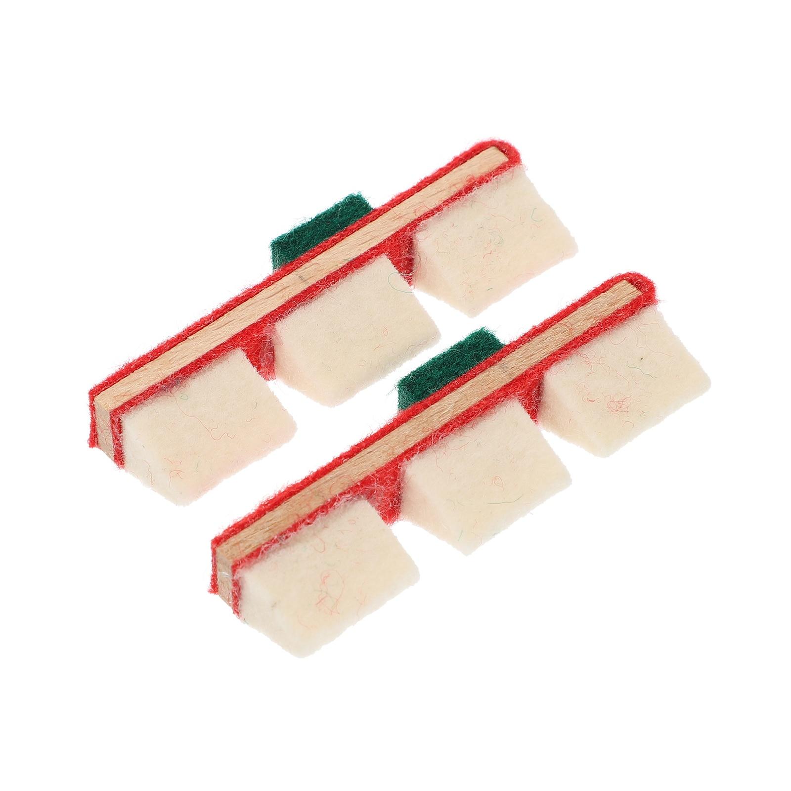 2 шт. подавитель звука пианино аксессуары для обслуживания пианино (разные цвета)