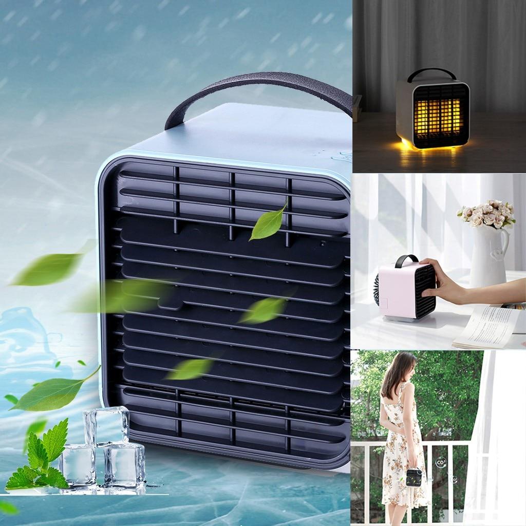Portable Mini climatiseur ventilateur personnel espace refroidisseur dair le moyen rapide et facile de refroidir la climatisation ventilateur de refroidissement # y # gb40