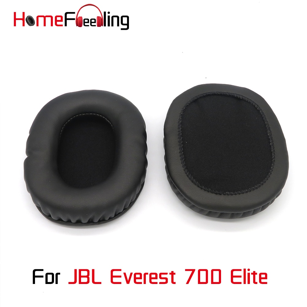 Homefeeling Ear Pads For JBL Everest 700 Elite Earpads Round Universal Leahter Repalcement Parts Ear Cushions
