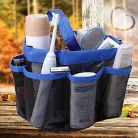 large pockets shower hanging caddy organizer bag for bathroom accessory mirror portable laundry washing bags