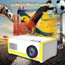 Dropship Portable Mini Projector 1080P Support 1080P Mini Home Projector AV USB Portable Pocket Beamer Home Theater Projector