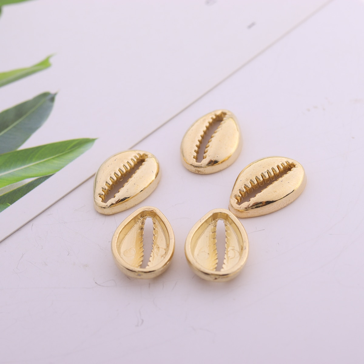 20 6*6mm Inside Hole 1mm CCB Gold Silver Color Seed Spacer Beads For Jewelry Making DIY Beaded Accessories  - buy with discount