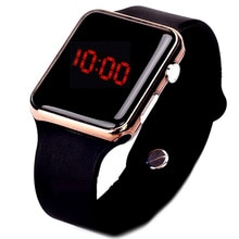 Mode unisexe montres hommes Led montres numériques bande de Silicone hommes montres de sport montre électronique reloj hombre relogio masculino