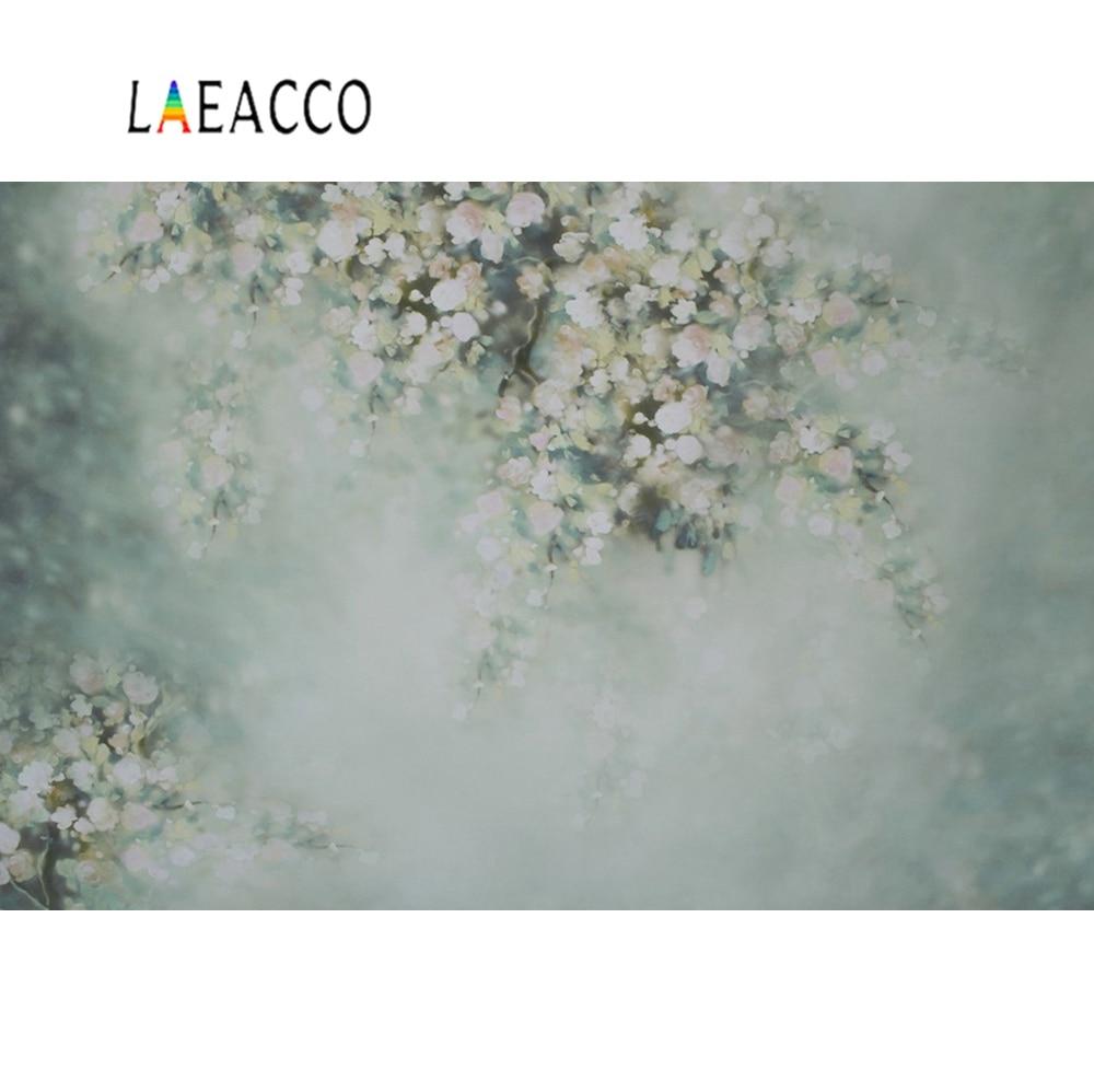 Laeacco Dreamy World Flowers Petal Baby Newborn Portrait Birthday Shower Photo Background Photography Backdrops