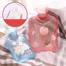 Hot Water Bottle Warm Bag Hot Warm Belly Mini Portable Cute Plush Student Child Female Menstrual Irrigation Hand Warmers