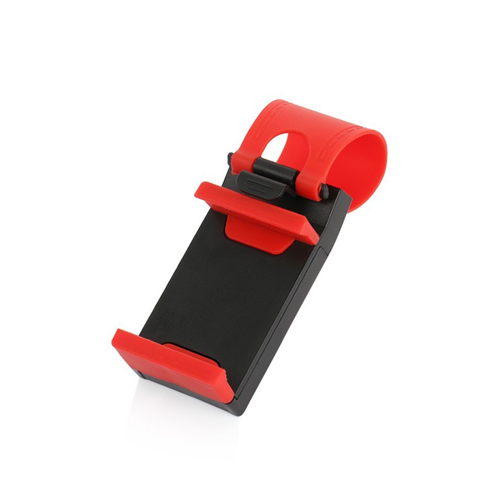 Universaversal Car Steering Wheel Clip Mount Holder for IPhone Mobile Phone