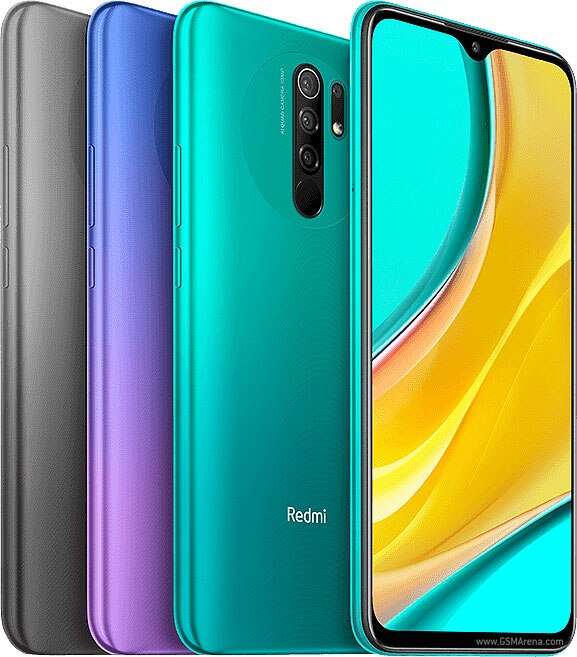 Смартфон Xiaomi Redmi 9 celular Android 10 4 Гб RAM 128 ГБ ROM Mediatek Helio G80 5020 мАч