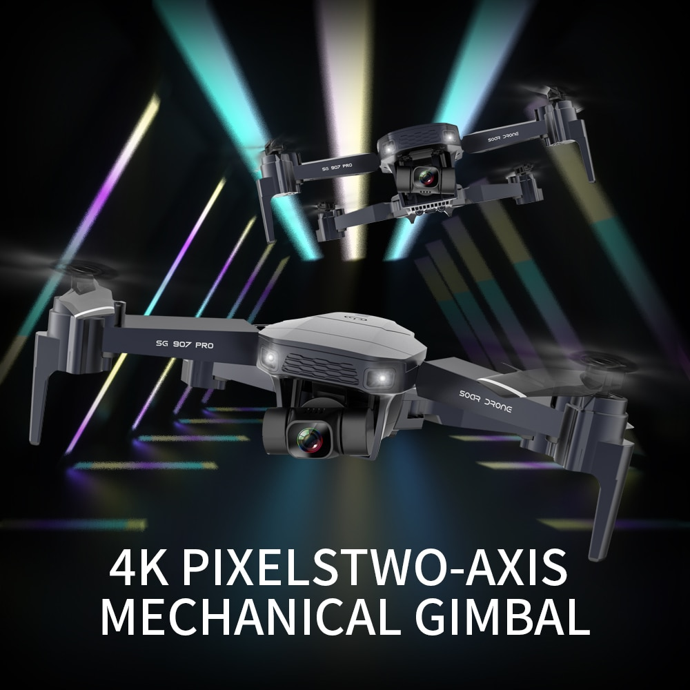 SG907 pro GPS Drone with 4K HD Adjustment Dual Camera Wide Angle 5G WIFI FPV RC Quadcopter Professional Foldable Drone 4K enlarge