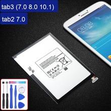 Tablette Batterie Pour Samsung GALAXY Tab 3 7.0 8.0 10.1 tab2 7.0 tab3 lite SM T110 T210 T211 T215 T310 T311 P5200 P5210 P3100 P3110