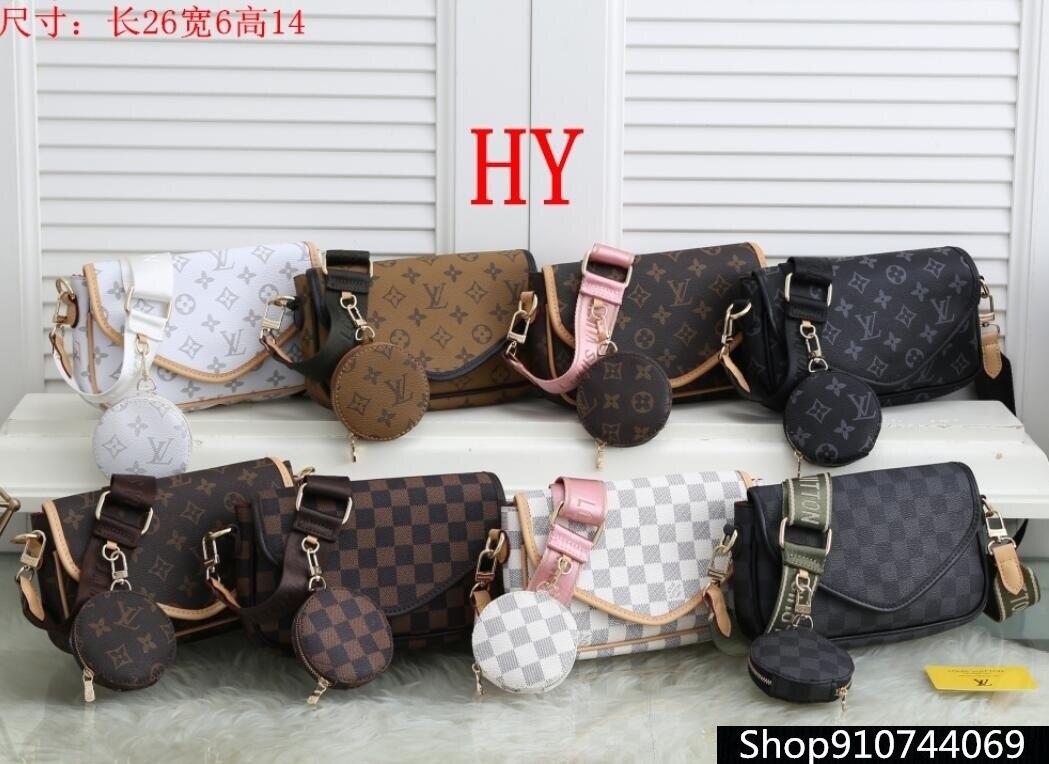 Luxury Leather Handbags Women Bags Designer Brand Women's Shoulder Bags Large Capacity Ladies Hand B