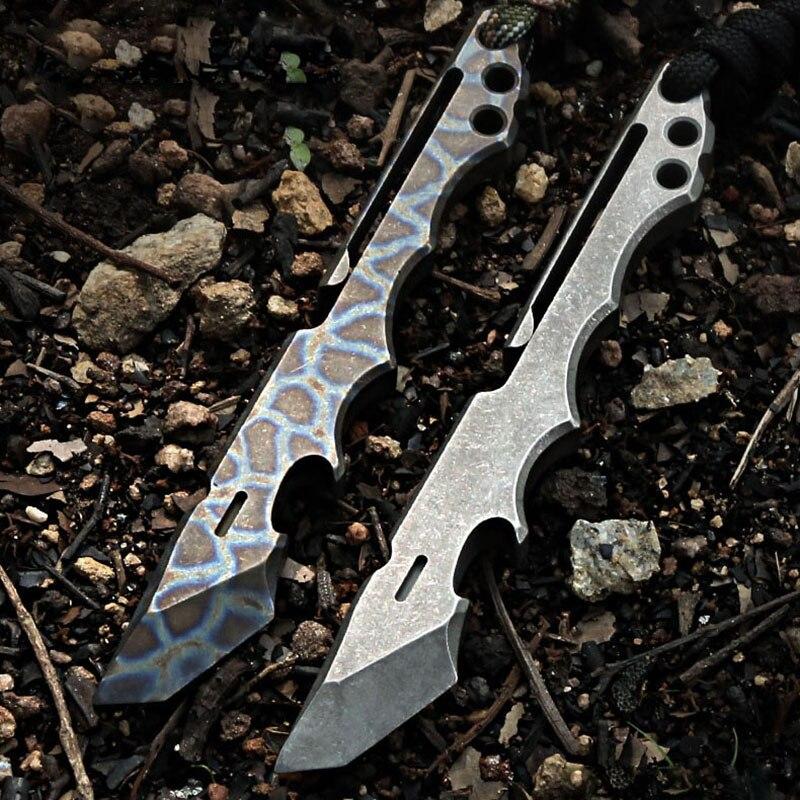 سبائك التيتانيوم كروبيرس الدفاع عن النفس الدفاع سلاح المحمولة سكين قضيب رفع مجموعة أدوات متعددة الوظائف