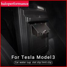 Model3 Car Accessories Hidden transparent storage box for Tesla model 3 2017 2018 2019 2020 Armrest box cover storage box