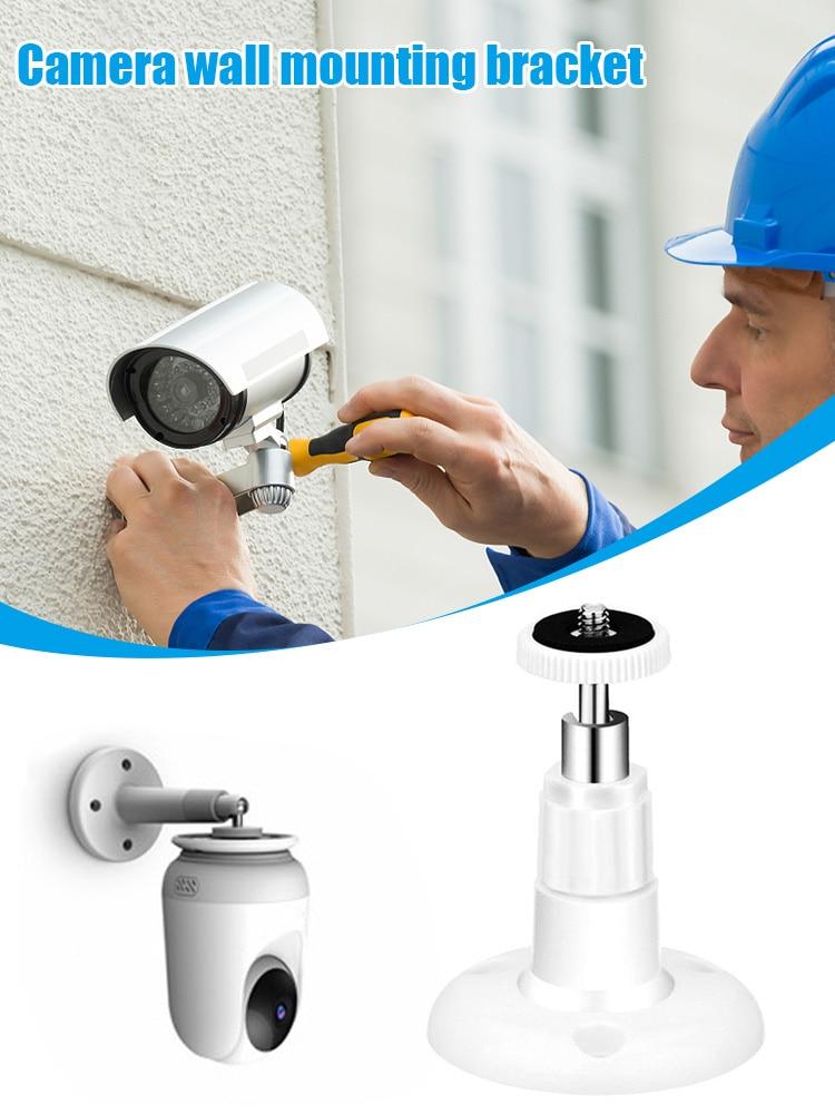 Кронштейн для камеры с поворотом на 360 градусов, настенное крепление для камеры видеонаблюдения, защита для камеры видеоняни, видеонаблюден...