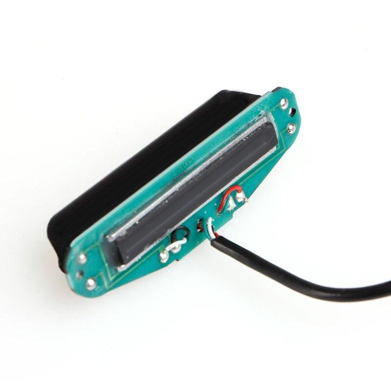 1 pieza de guitarra eléctrica Pickup cuello Dual Hot Humbucker Rail Pickups venta al por mayor y Dropship