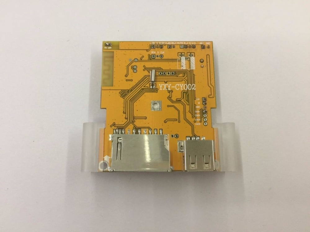 4.3 Lcd Screen Display Video Decoder Board Support Fm Bluetooth Receiving Video and Audio Playback Pictures E-book Browsing enlarge