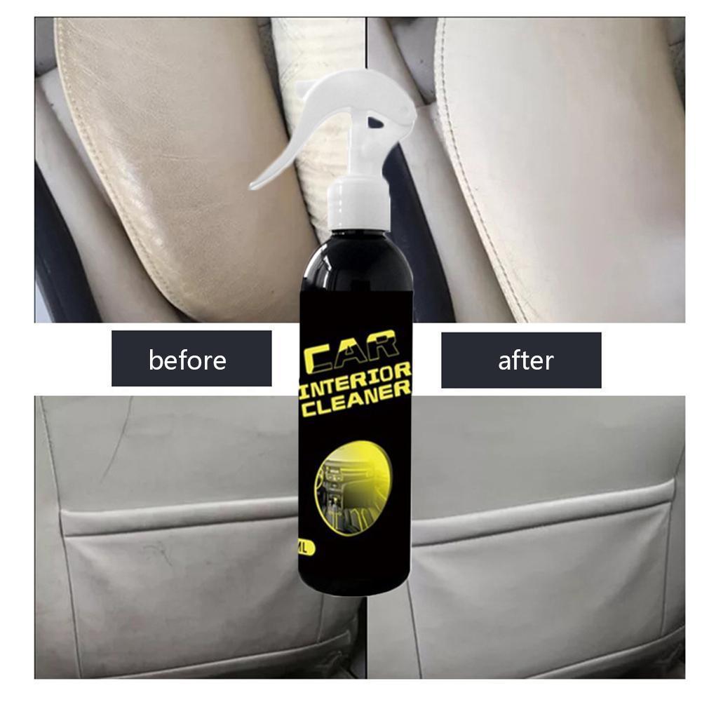 Limpiador de Interior de coche Universal de 100ml, limpiador de limpieza de coche con potencia, removedor de limpieza de coche, Multi-película con función, rociador de Interior sin enjuague W2E0