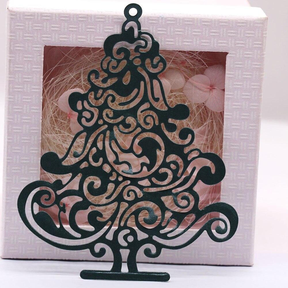 Troqueles de corte de Metal para árbol de Navidad, álbum de recortes,...