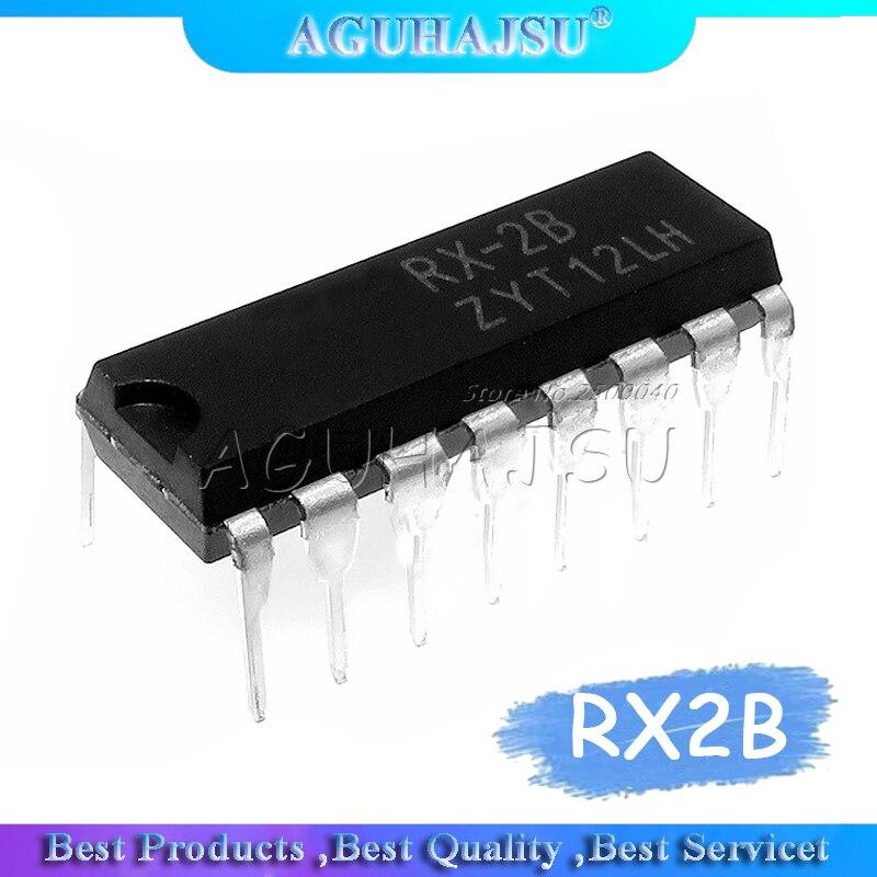 10 unids/lote 5 pares RX-2B + TX-2B RX-2 TX-2 RX2B TX2B DIP-16