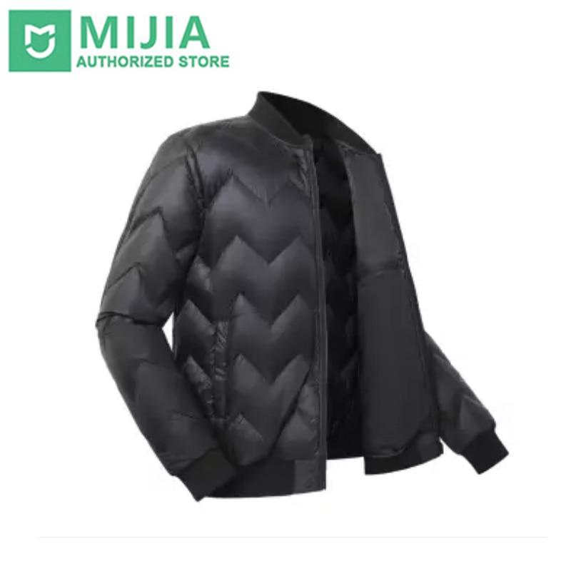 Xiaomi Mijia Uleemark Men Goose Down Jacket Light Weight Fashion Design 20D High Density Fabric Lock Temperature Cold Resistance