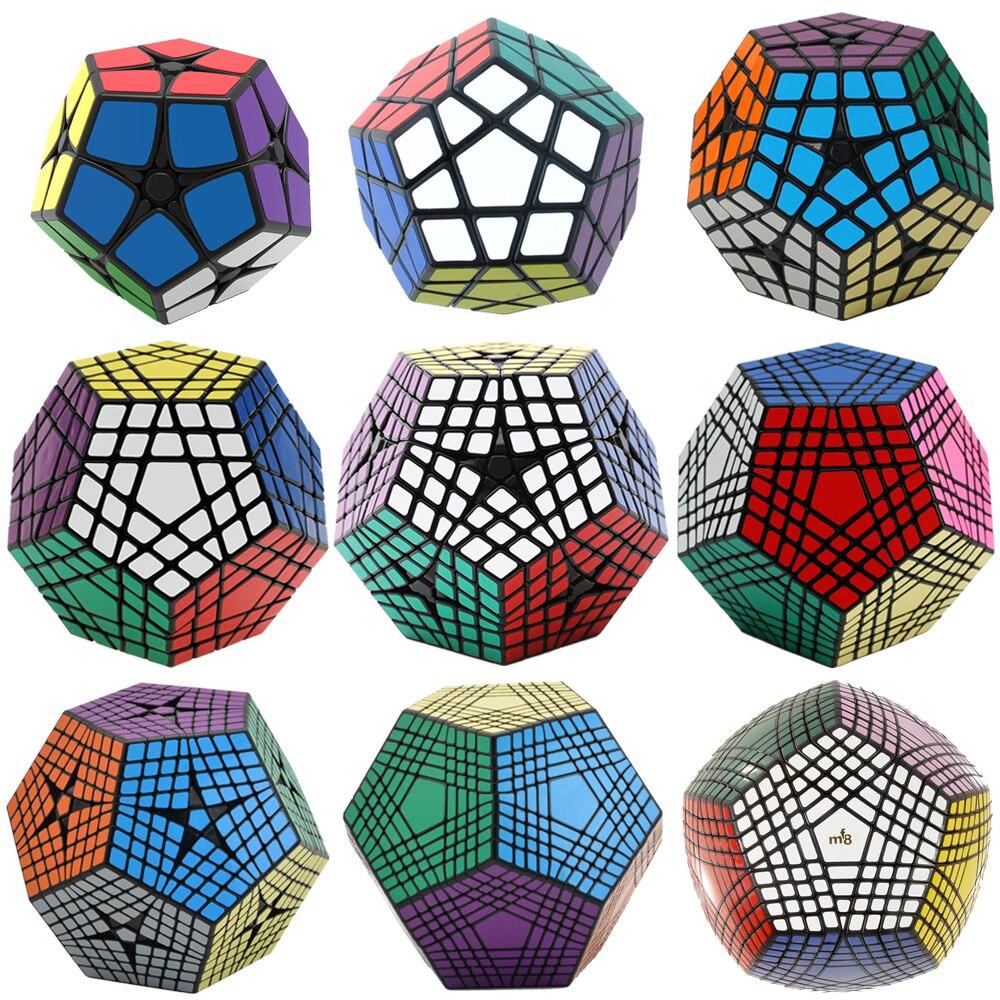 Shengshou 2x2 3x3 4x4 5x5 6x6 7x7 8x8 9x9 Megaminxes Magische Würfel 12 gesichter Dodekaeder MF8 Petaminx Elite Kilominx Gigaminx spielzeug
