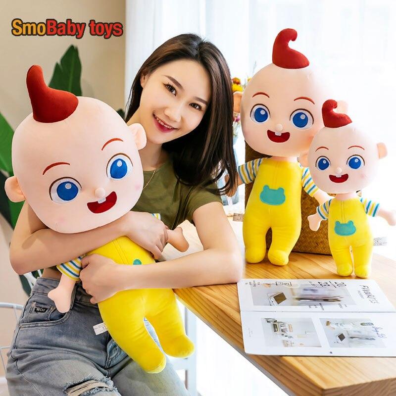Мягкие плюшевые игрушки Jojo, супер кавайная плюшевая подушка, мягкие игрушки, детские Игрушки для раннего развития, милая декоративная Успок...