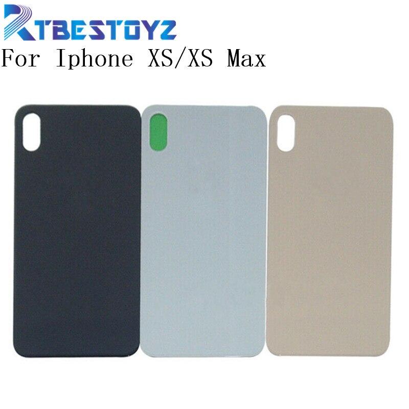 Para o iphone XS Max Caixa De Vidro Tampa Traseira Da Bateria Porta Da Habitação de Volta Para O Iphone XS