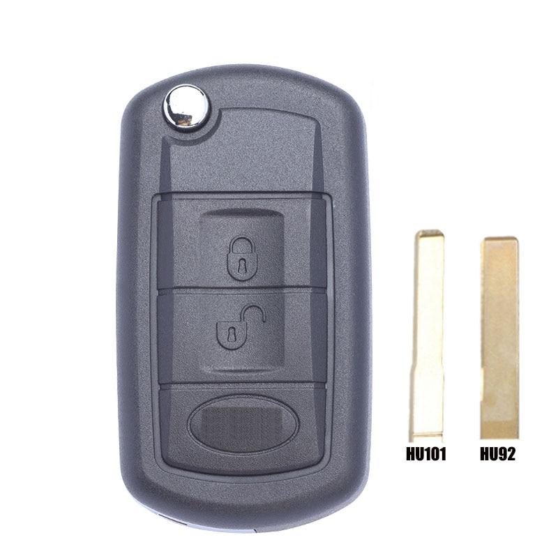 Funda para llave de coche con control remoto de 3 botones, carcasa con estilo Fob para Land Rover, para Land Rover Range Rover Sport LR3 discotion