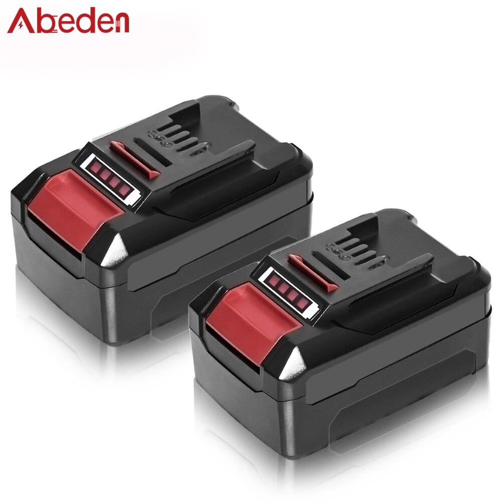 Abeden بطارية ليثيوم بديلة 4000 مللي أمبير في الساعة لبطاريات إينهيل 6000 مللي أمبير في الساعة 18 فولت قابلة للشحن بطاريات ليثيوم أيون أدوات كهربائي...
