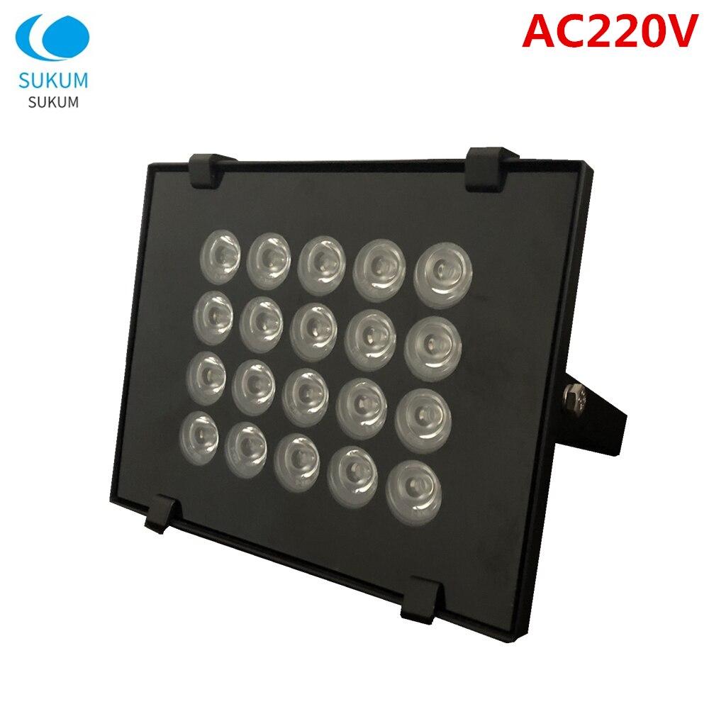 CCTV luz infrarroja visión nocturna IR iluminador cámara de seguridad luz adicional IR reflector LED proyector CCTV Luz de relleno