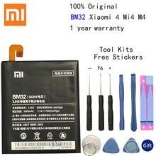 Xiao Mi pour Xiaomi 4 Mi4 BM32 batterie au Lithium polymère Bateria 3080mAh outils gratuits paquet de vente au détail nouvelle arrivée