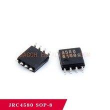10PCS/lot New OriginaI NJM4580M 4580 dual operational amplifier chip IC patch imported brand