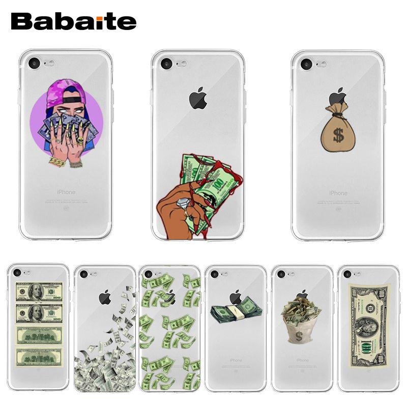 Us grande dinheiro 100 dólares coque escudo caso de telefone para iphone 12 11 pro xs max xr 8 7 6s plus x 5 5S se 12mini