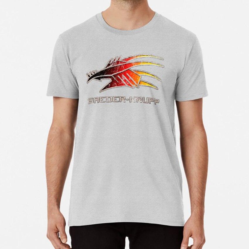 Saeder-krupp t camisa saeder krupp corporation logotipo shadowrun dragão