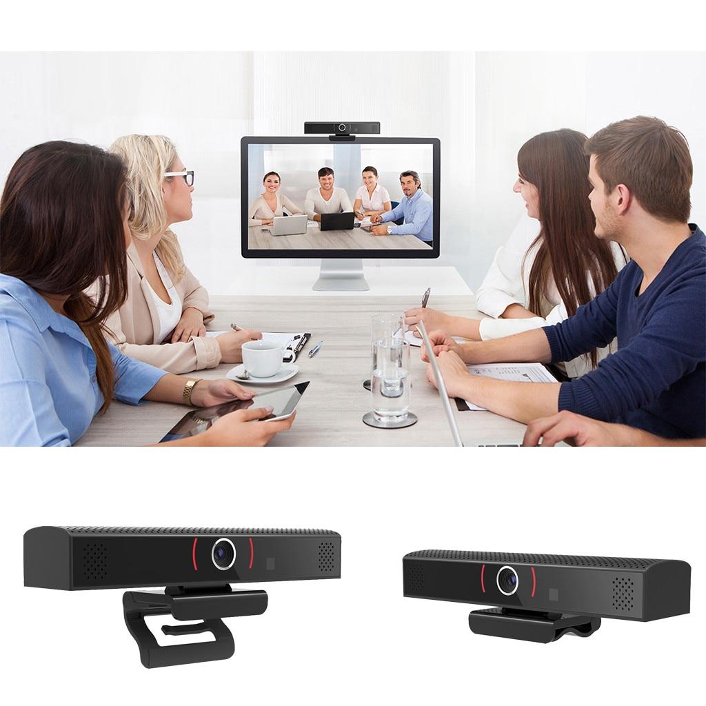 Cámara Web de 2MP USB 1080P, cámara de ordenador Full HD, Webcams, concentrador USB integrado con resolución dinámica de micrófono absorbente de sonido