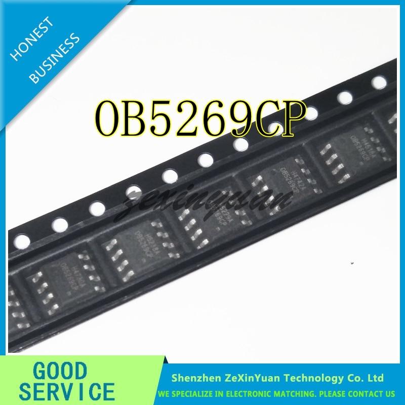 10 unids/lote OB5269CP OB5269 SOP-8 CHIP de potencia de pantalla LED nuevo